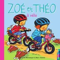 Catherine Metzmeyer et Marc Vanenis - Zoé et Théo à vélo.