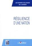 Catherine Orphelin - Résilience d'une nation - Y-a-t-il une place pour le citoyen dans la sécurité de notre pays ?.