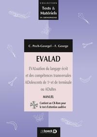 EVALAD - Evaluation du langage écrit et des compétences transversales : Adolescents de 1re et de Tle ou adultes.pdf