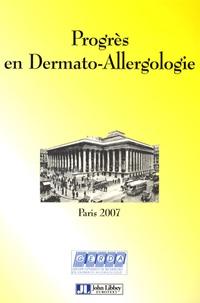 Catherine Pecquet et Annick Pons-Guiraud - Progrès en dermato-allergologie Paris 2007.
