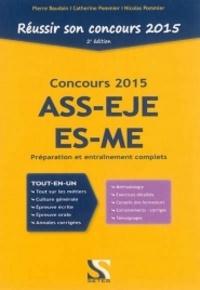 Réussir son concours ASS - EJE - ES - ME - Catherine Pommier pdf epub