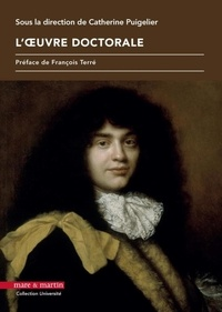 Catherine Puigelier - L'oeuvre doctorale.