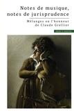 Catherine Puigelier - Notes de musique, notes de jurisprudence - Mélanges en l'honneur de Claude Grellier.