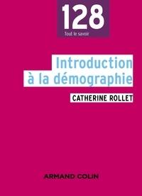 Catherine Rollet - Introduction à la démographie.