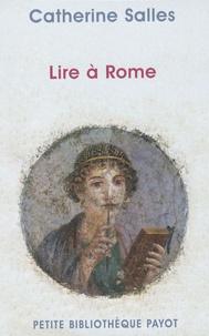 Deedr.fr Lire à Rome Image