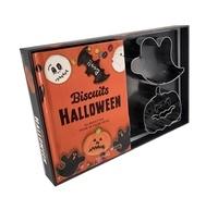 Catherine Saunier-Talec - Coffret Biscuits Halloween - 20 recettes pour se faire peur. Avec 2 emporte-pièces.