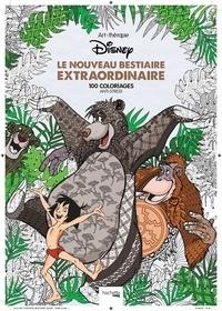 Catherine Saunier-Talec et Jean-Luc Guérin - Le nouveau bestiaire extraordinaire - 100 coloriages anti-stress.