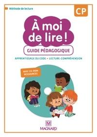 Catherine Savadoux-Wojciechowski et Jean-Michel Bouillaud - A moi de lire ! CP - Guide pédagogique. 1 Cédérom