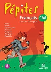 Catherine Savadoux-Wojciechowski et Magali Caylat - Français CM1 Pépites - Programme 2008.