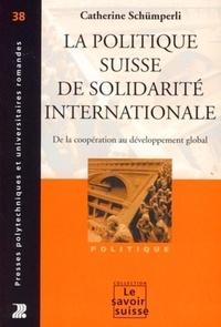 Galabria.be La politique suisse de solidarité internationale - De la coopération au développement global Image