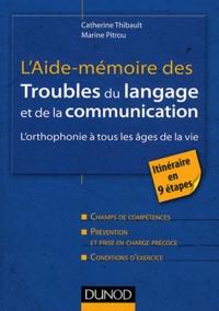 Deedr.fr L'aide-mémoire des troubles du langage et de la communication - L'orhophonie à tous les âges de la vie Image