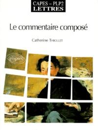 Histoiresdenlire.be LE COMMENTAIRE COMPOSE. Capès PLP2, Lettres Image