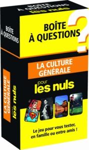 Histoiresdenlire.be La culture générale pour les nuls - Boîte à question Image