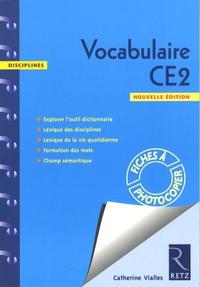Catherine Vialles - Vocabulaire CE2 - Fiches à photocopier.