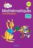 Catherine Vilaro et Didier Fritz - Mathématiques CE1 Litchi - Guide pédagogique.