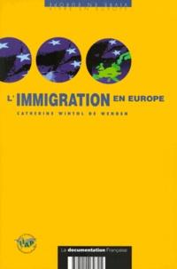 Catherine Wihtol de Wenden - L'immigration en Europe.