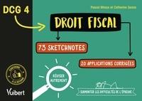 Catherine Zerara et Pascal Miraux - DCG 4 Droit fiscal - 73 sketchnotes, 20 applications corrigées.