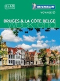 Catherine Zerdoun et François Sichet - Bruges & la côte belge. 1 Plan détachable