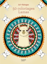 Cathy Delanssay - 50 coloriages Lamas.