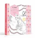 Cathy Delanssay et Jeanne Ardoin - L'album de mon chat à colorier.