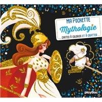 Livres gratuits téléchargeables au format pdf Mythologie  - Avec 5 cartes à gratter phosphorescentes, 5 cartes à colorier, 1 pique en bois