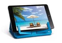 CATWALK - If support pour livre travel en plastique 18x14 bleu