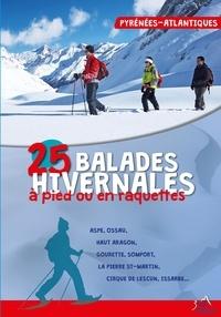 Caubet Jamorski - 25 balades hivernales en Pyrénées-Atlantiques.