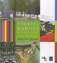 Caue des Landes - Espaces publics & paysage des bourgs dans les Landes.