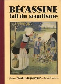 Caumery - Bécassine  : Bécassine fait du scoutisme.