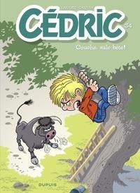 Cauvin et  Laudec - Cédric - tome 34 - Couché, sale bête !.