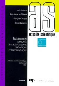 Openwetlab.it TELEDETECTION APPLIQUEE A LA CARTOGRAPHIE THEMATIQUE ET TOPOGRAPHIQUE. Actes des Journées scientifiques de Montréal 1991 Image