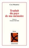 Caya Makhélé - Traduit du pays de ma mémoire.