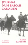 Cayet Damestoy - Journal d'un Basque-Canadien.