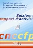 Ccfp - Seizième rapport d'activité CNCCFP 2014.