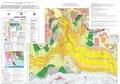 CCGM - Carte de l'océan Indien physiographique (feuille 1) et structurale (feuille 2) - 1/40 000 000.
