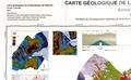 CCGM - Carte géologique de la République de Djibouti - 1/200 000.