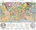 Philippe Bouysse - Carte géologique du monde - 1/35 000 000.