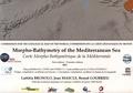 Laëtitia Brosolo et Jean Mascle - Carte morpho-bathymétrique de la Méditerranée - 1/4 000 000.