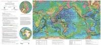 Philippe Bouysse - Carte physiographique du monde - 1/50 000 000.