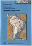 CCGM - Carte tectonique de l'Amérique du Sud + notes explicatives - 1/5 000 000.