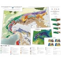Romain Bousquet - Carte tectonique des Alpes - 1/1 000 000.