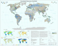 Wilhelm Struckmeier et Andrea Richts - Groundwater Resources of the World - 1/40 000 000.