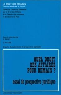 CCIP - Creda - Quel Droit Des Affaires ?.