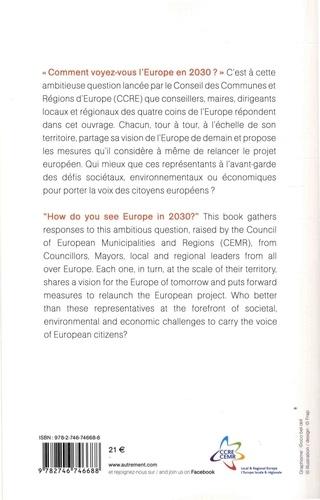 Europe 2030. Les territoires prennent la parole