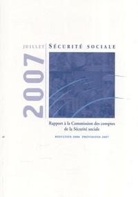 Les comptes de la Sécurité sociale - Résultats 2006, prévisions 2007.pdf