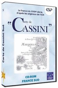 CDIP - Carte de Cassini : partie Sud - CD-ROM.