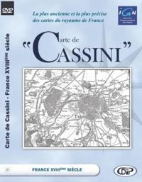 CDIP - Carte de Cassini - France XVIIIe siècle, DVD.