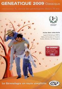 CDIP - Généatique 2009 classique - 2 CD-ROM.