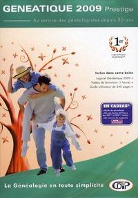 CDIP - Généatique 2009 Prestige - 2 CD-ROM.