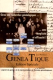 CDIP - GénéaTique - Généalogie et Informatique, Edition spéciale, CD-Rom.